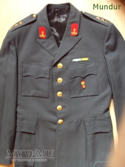 Armén uniform m/60 porucznik