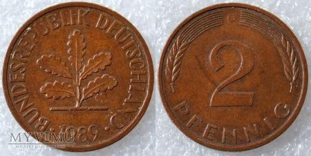 Niemcy, 1989, 2 PFENNIG