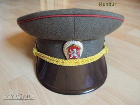 Czapka oficerska ČSLA