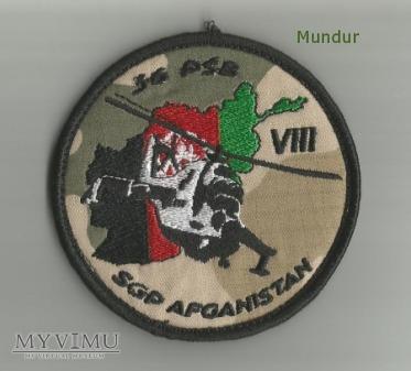 Emblemat misyjny: Samodzielna Grupa Powietrzna