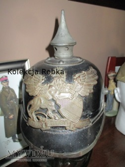 Pickelhauba typu Baden / 1916 /