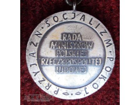 """Odznaka """"Na Straży Pokoju"""""""