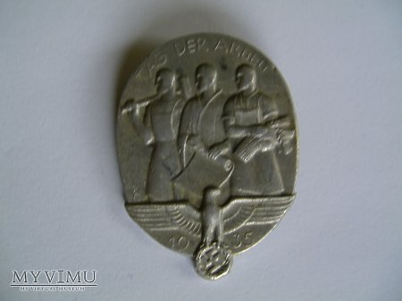 Odznaka 1 majowa 1935