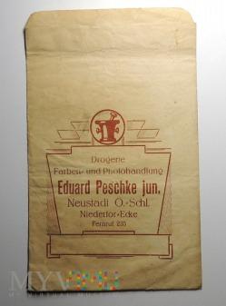 Papierowe opakowanie E. Peschke Neustadt, większa