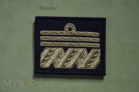 Oznaka stopnia MW - admirał floty