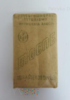 Papierosy Mocne 10 szt PMT 1934 rok.