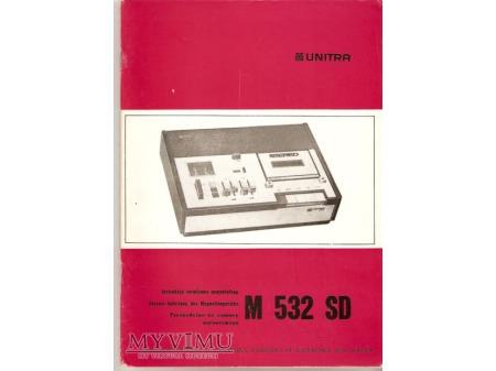 Instrukcja serwisowa magnetofonu M532SD