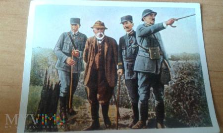Clemenceau z wizytą na froncie