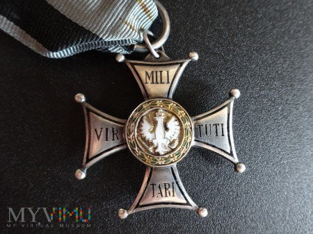 Virtuti Militari V klasy - wyk. Panasiuk
