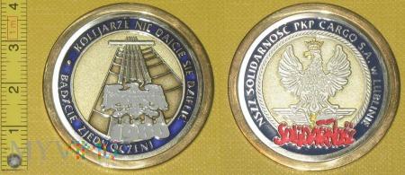 Medal kolejowy - związkowy NSZZ