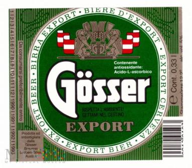 Gösser export