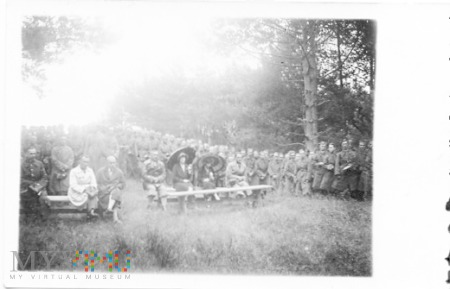 Msza polowa w 1931r.
