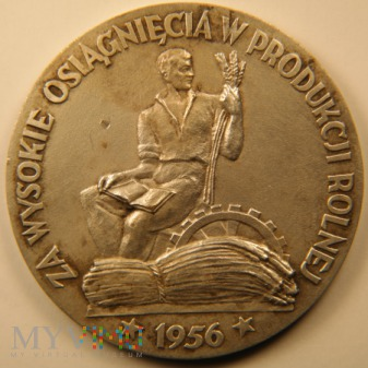 1956 - 1/56 Ag - Za wysokie osiągnięcia w produkcj
