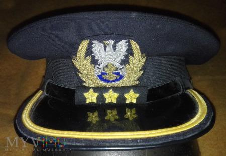 Czapka garnizonowa porucznik MW LWP - zimowa