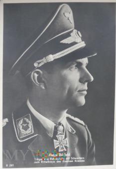 Zdjęcie propagandowe major Ihlefeld