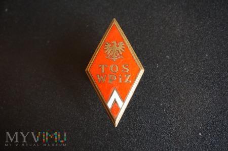 Odznaka Technicznej Oficerskiej Szkoły WPiZ 1953r.