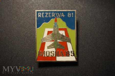 Pamiątkowa Odznaka Rezerwy - Wiosna 85