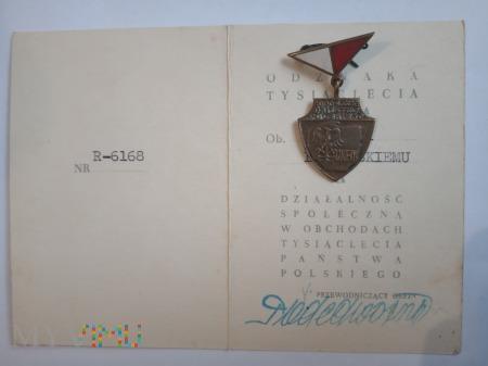 Odznaka 1000-lecia Państwa Polskiego