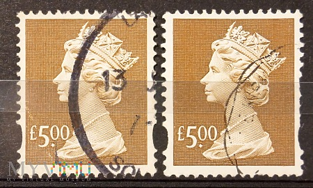 Elżbieta II, GB 1796