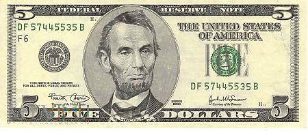 Stany Zjednoczone - 5 dolarów (2003)
