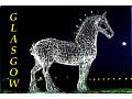 magnes ze świetlnym koniem z Glasgow