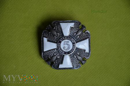 Odznaka 5 Batalion Strzelców Podhalańskich