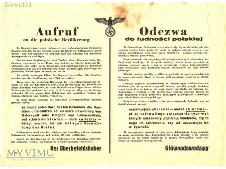 Odezwa do ludności polskiej