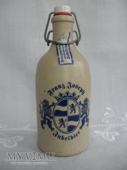 "Butelka kamionkowa ""Franz Joseph"" - kabłąkowa"