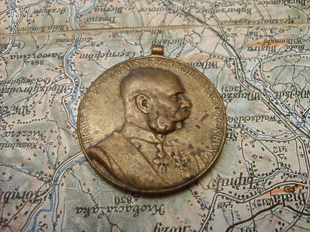 Medal jubileuszowy Franciszka Józefa (1848-1898)