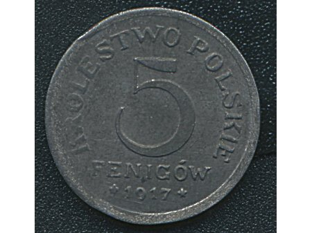 5 fenigów 1917