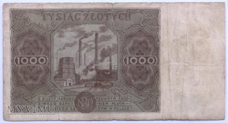 1000 złotych - 1947.
