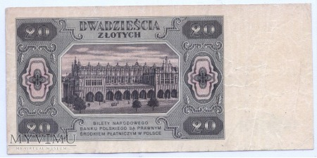 20 złotych - 1948.