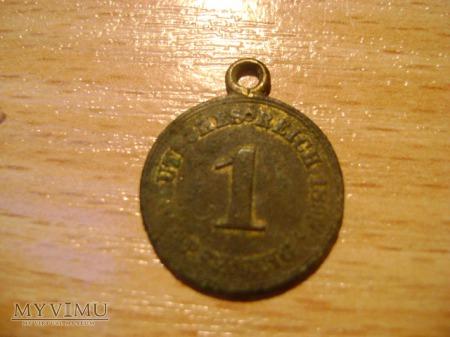 1 pfennig 1899 - medalik