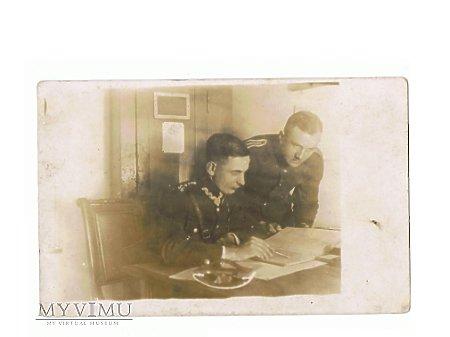 Zdjęcie żołnierzy 56 Pułku Piechoty Wlkp.