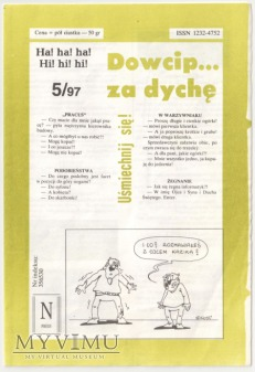 Dowcip...za dychę 5/97