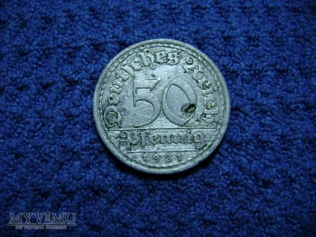 50 pfennig 1921