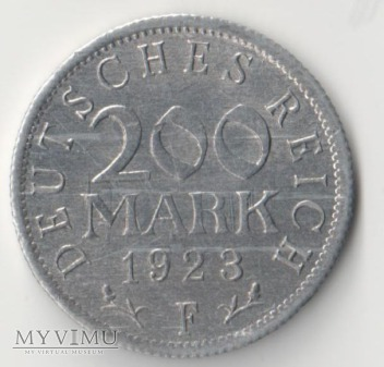 200 MARK 1923 rok F