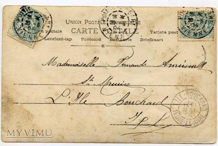 Pocztówka okolicznościowa 1904