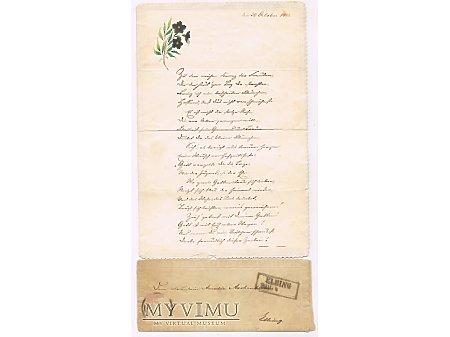 Duże zdjęcie Romantyczny list