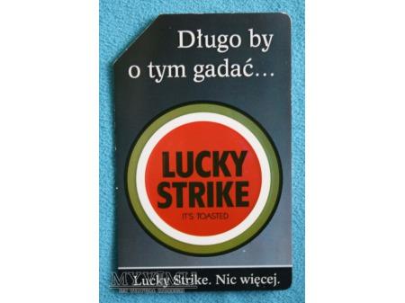 Lucky Strike. Nic więcej.
