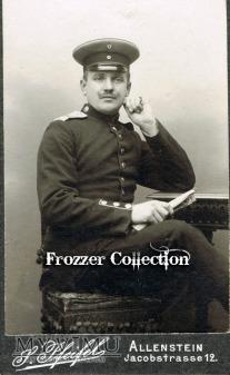 Zdjęcie żołnierza z Infanterie-Regiment nr.150