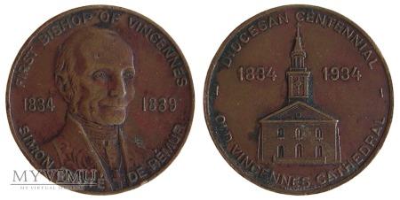100-lecie Diecezji Vincennes medal 1934