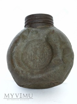 Olejarka do karabinu z oznaczeniami WP i orlem