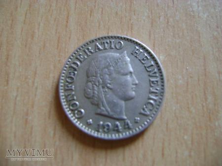 moneta szwajcarska 1944
