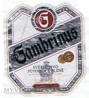 gambrinus světlé pivo