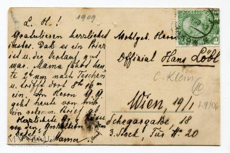 Catharina C. Klein róże flowers Postcard