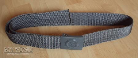 Pas szary z taśmy poliamidowej DDR