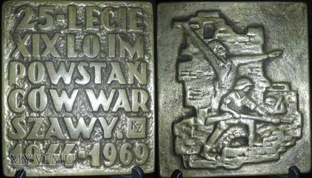 161. 25-lecie XIX L.O.im Powstańców Warszawy.44-69