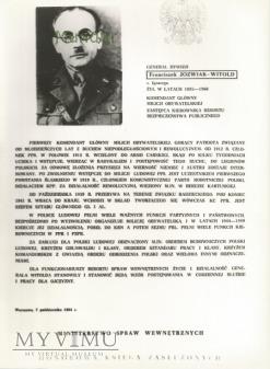 Zdjęcie propagandowe MO: generał dywizji