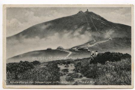 Duże zdjęcie Karkonosze Śnieżka Schneekoppe 1930-te